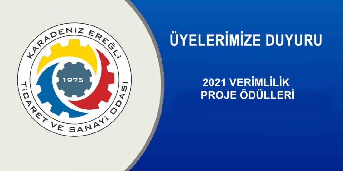 2021 VERİMLİLİK PROJE ÖDÜLLERİ