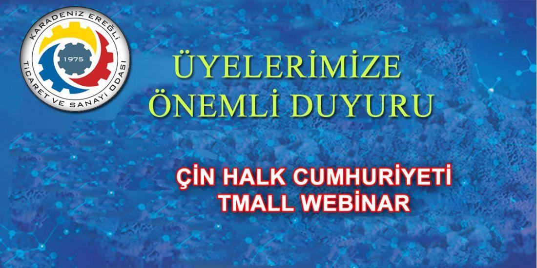 ÇİN HALK CUMHURİYETİ TMALL WEBİNAR
