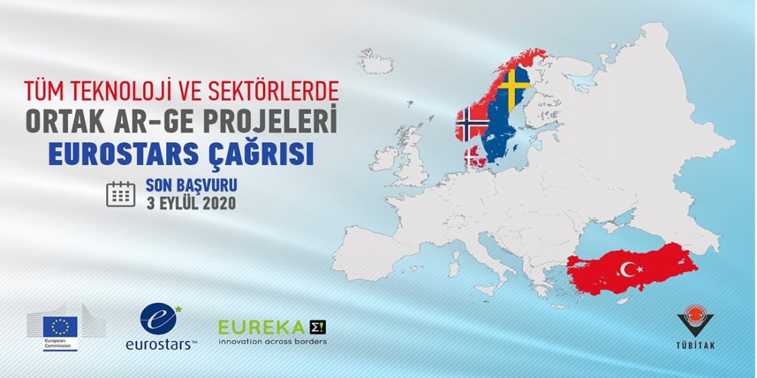 EUROSTARS PROGRAMI TÜRKİYE-İSKANDİNAVYA ÇAĞRISI
