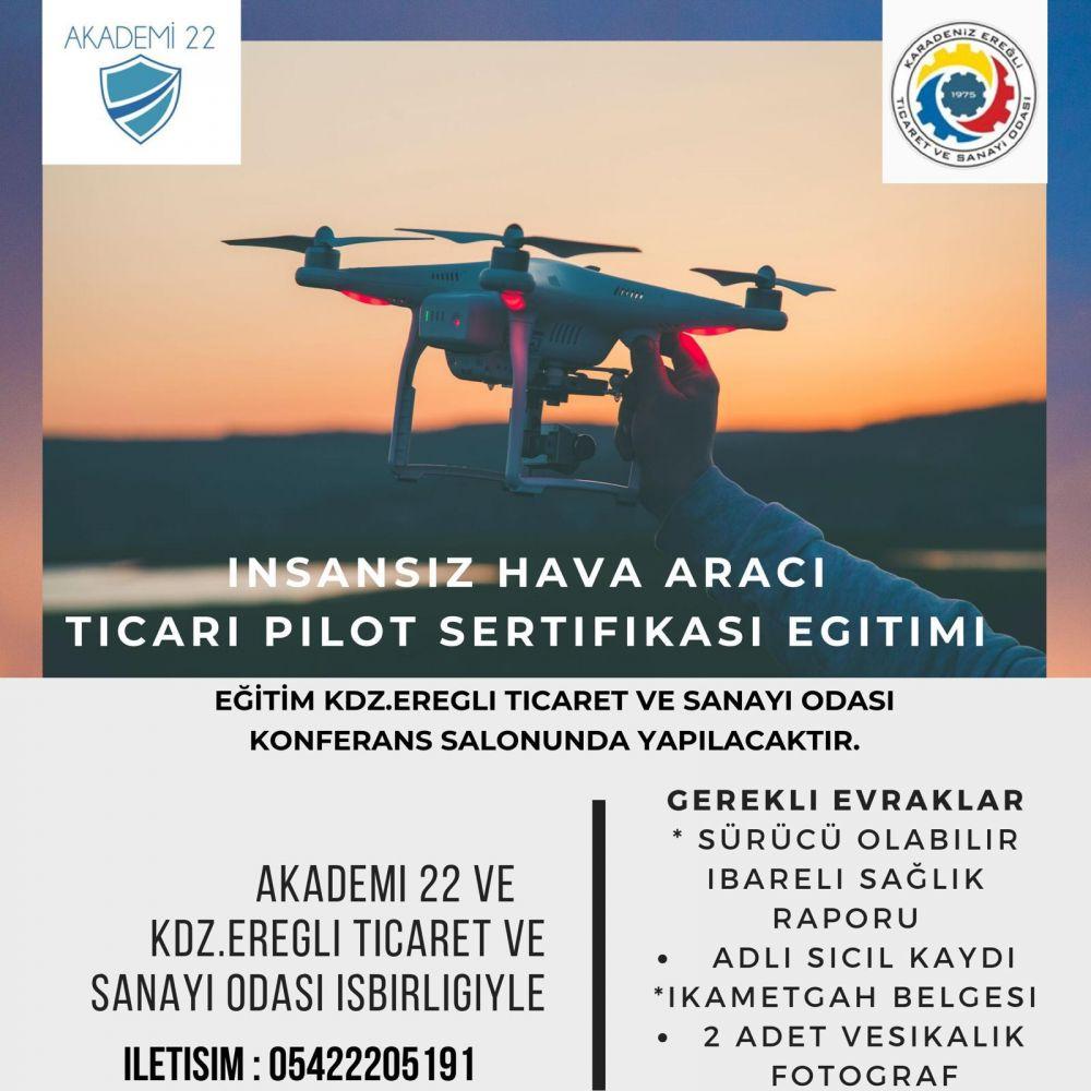 İnsansız Hava Aracı  Eğitimi Hakkında Duyuru