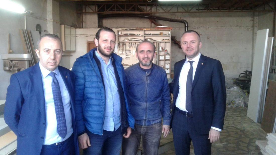 KDZ. Ereğli Ticaret ve Sanayi Odası Başkanı Arslan Keleş Üye Ziyaretlerine hızla devam ediyor.