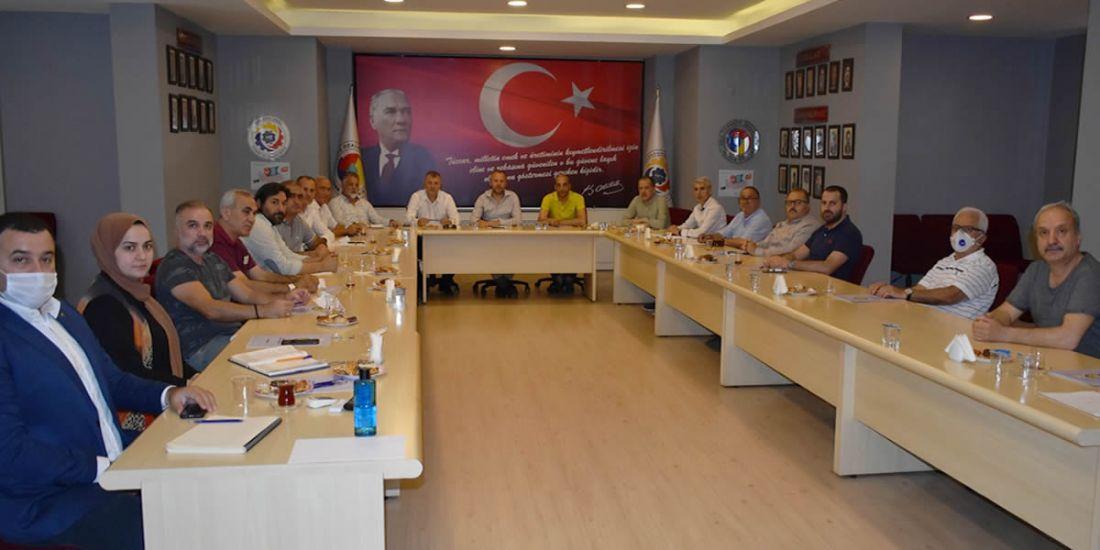 KDZ EREĞLİ TİCARET VE SANAYİ ODASI'NDA BİLGİLENDİRME TOPLANTISI