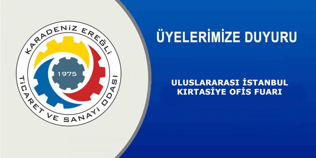 ULUSLARARASI İSTANBUL KIRTASİYE OFİS FUARI