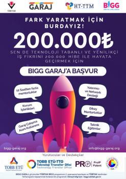 BİGG GARAJ 2020/2 TANITIM DUYURUSU