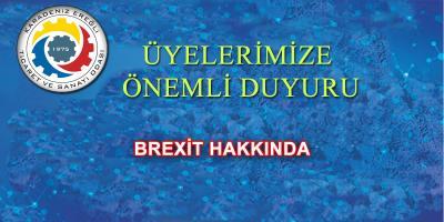 BREXİT HAKKINDA