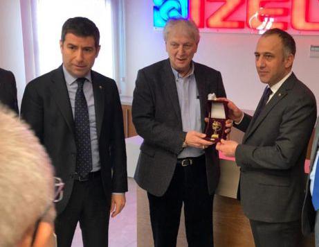 Ege Bölgesi Sanayi Odası ve İZELTAŞ Yönetim Kurulu Başkanı Ender Yorgancılar'a Ziyaret.