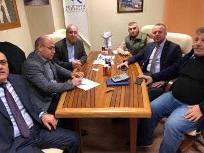 Kdz. Ereğli Ticaret ve Sanayi Odası Yönetim Kurulu Başkanı Arslan Keleş, Tersane Bölgesinde incelemelerde bulundu.