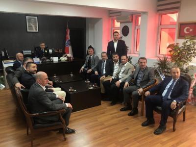 """KDZ EREĞLİ TSO YÖNETİMİ """"POLİS HAFTASINI"""" KUTLADI"""