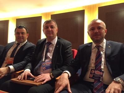KDZ.Ereğli Ticaret ve Sanayi Odası Yönetim Kurulu Başkanı Arslan  TOBB Ekonomi Şura'sına katıldı.