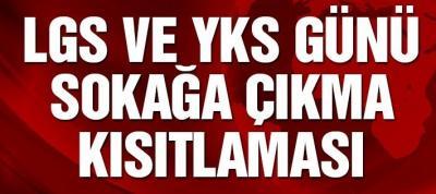 LGS VE YKS TEDBİRLERİ