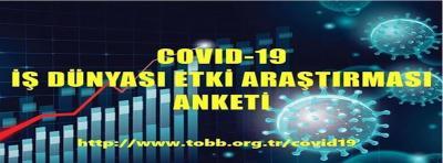 COVİD-19 İŞ DÜNYASI ETKİ ARAŞTIRMASI ANKETİ