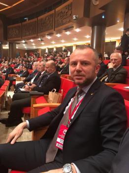 """Karadeniz Ereğli Ticaret ve Sanayi Odası Yönetim Kurulu Başkanı Arslan Keleş,""""İstihdam seferberliği"""" 2019 Tanıtım Toplantısına katılım sağladı."""