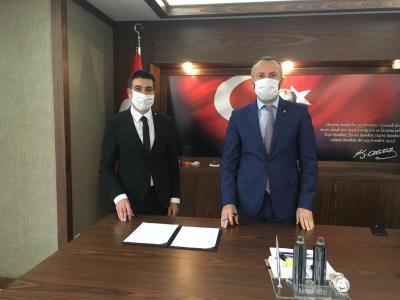 """""""TOBB NEFES KREDİSİ"""" İÇİN DENİZ BANK İLE PROTOKOL İMZALANDI"""